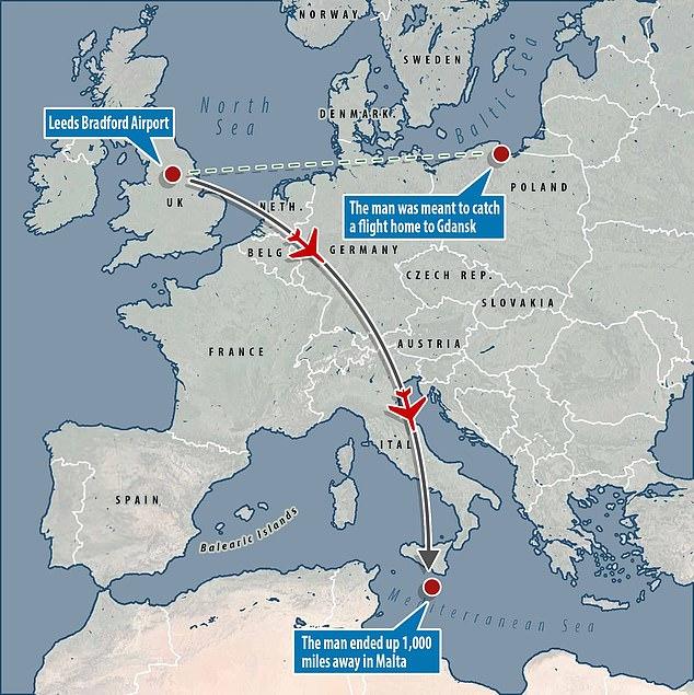 Переплутав літаки: як пасажир прилетів до Мальти замість Польщі
