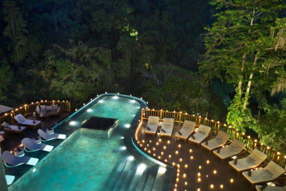 7 самых красивых отелей с инфинити бассейном в районе Убуд
