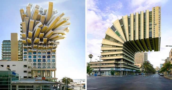 Фантастических зданий