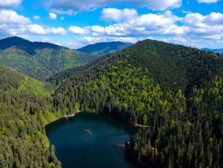Чарующие озёра Украины