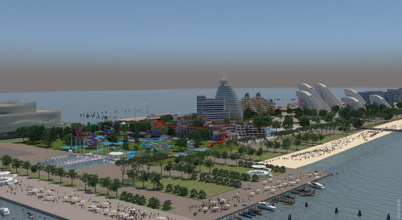 В Україні збудують місто-курорт з 80 готелями