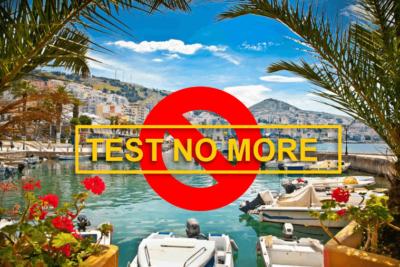 Албания: бесплатный тест на COVID-19 для тех, кто возвращается в Украину.