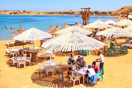 Отели Шарм-эль-Майя в Шарм-Эль-Шейхе с плавным входом в море.